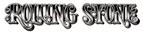 Rick Griffin Logo Rolling Stone