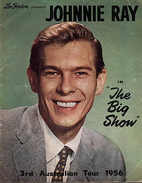 johnny ray big show 1956
