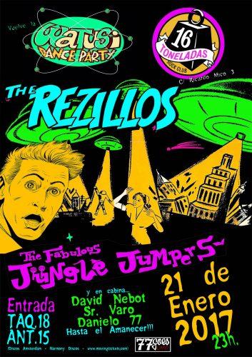 The Rezillos @ 16 Toneladas | València | Comunidad Valenciana | España