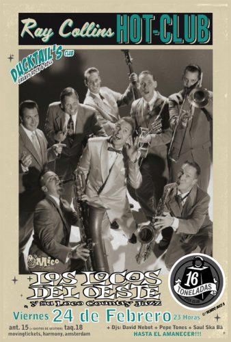 Ray Collins Hot Club @ 16 Toneladas | València | Comunidad Valenciana | España