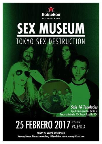 Sex Museum + Tokyo Sex Destruction @ 16 Toneladas | València | Comunidad Valenciana | España