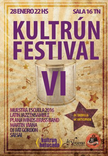 Kultrún Festival @ 16 Toneladas | València | Comunidad Valenciana | España