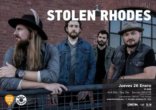 Stolen Rhodes @ El Loco Club | València | Comunidad Valenciana | España