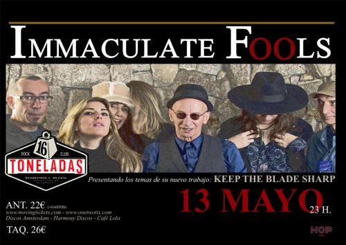 Immaculate Fools @ 16 Toneladas | València | Comunidad Valenciana | España