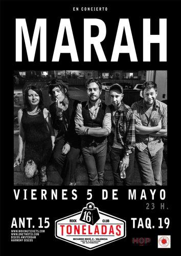 Marah @ 16 Toneladas | València | Comunidad Valenciana | España