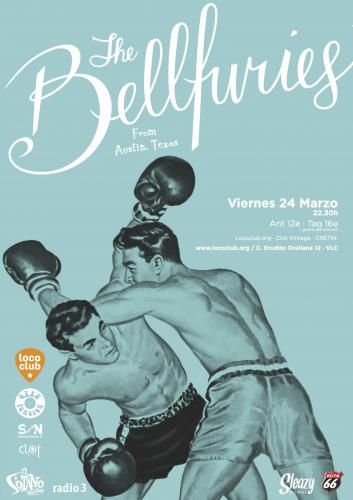 The Bellfuries @ El Loco Club | València | Comunidad Valenciana | España