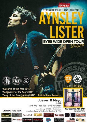 Aynsley Lister @ El Loco Club | València | Comunidad Valenciana | España