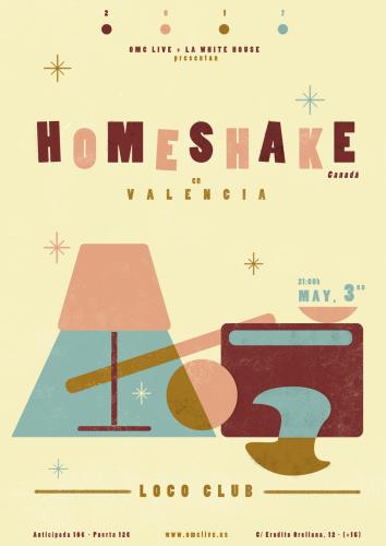 Homeshake @ El Loco Club | València | Comunidad Valenciana | España