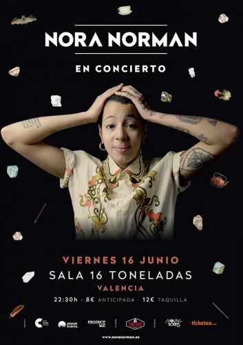 Nora Norman @ 16 Toneladas   València   Comunidad Valenciana   España