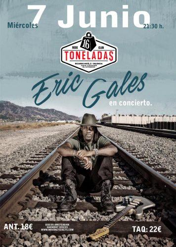 Eric Gales @ 16 Toneladas | València | Comunidad Valenciana | España