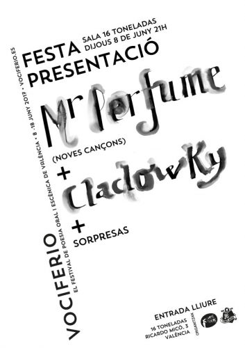Vociferio (Mr. Perfume + Clacovky) @ 16 Toneladas   València   Comunidad Valenciana   España