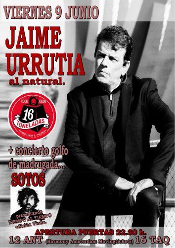Jaime Urrutia @ 16 Toneladas   València   Comunidad Valenciana   España