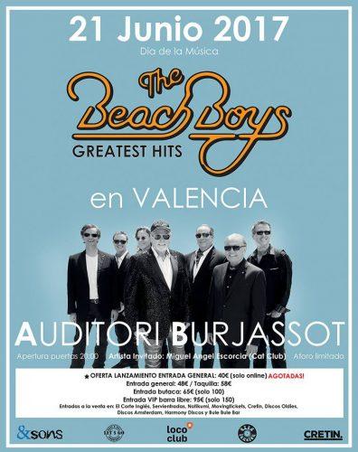 The Beach Boys @ Auditori Burjassot   Burjassot   Comunidad Valenciana   España