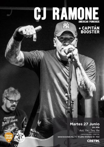 CJ Ramone + Capitán Booster @ El Loco Club | València | Comunidad Valenciana | España