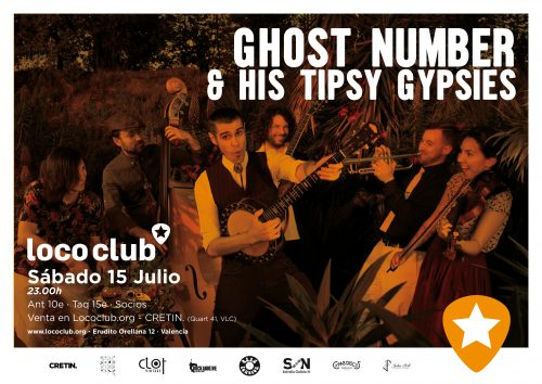 Ghost Number & His Tipsy Gypsies @ El Loco Club | València | Comunidad Valenciana | España