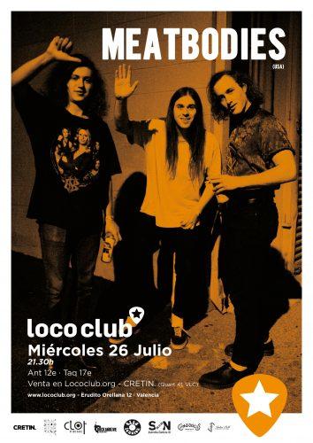Meatbodies @ El Loco Club | València | Comunidad Valenciana | España