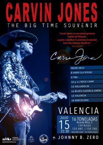 Carvin Jones @ 16 Toneladas | València | Comunidad Valenciana | España