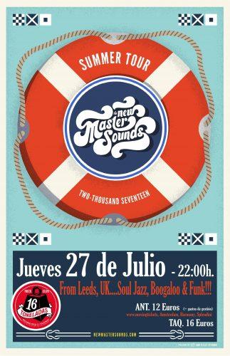 The New Masters Sounds @ 16 Toneladas | València | Comunidad Valenciana | España