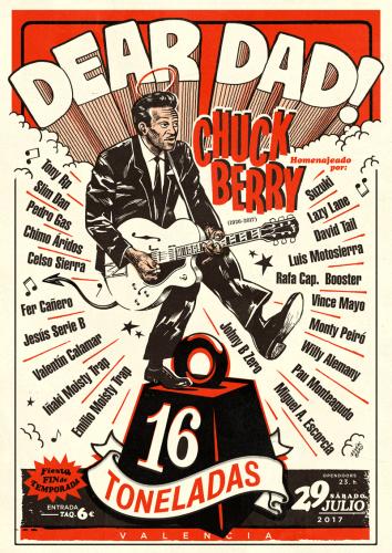 Dear Dad (Chuck Berry Tribute) @ 16 Toneladas | València | Comunidad Valenciana | España