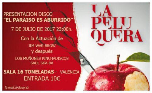 La Peluquera @ 16 Toneladas | València | Comunidad Valenciana | España