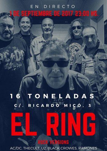 El Ring (Rock versions) @ 16 Toneladas | València | Comunidad Valenciana | España