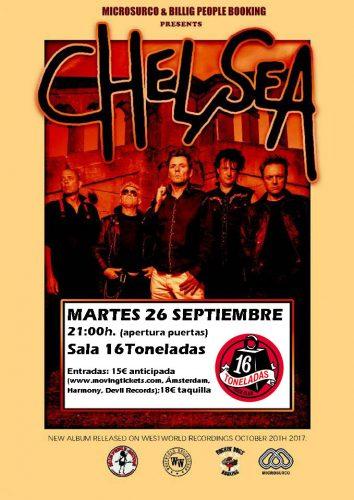 Chelsea @ 16 Toneladas | València | Comunidad Valenciana | España