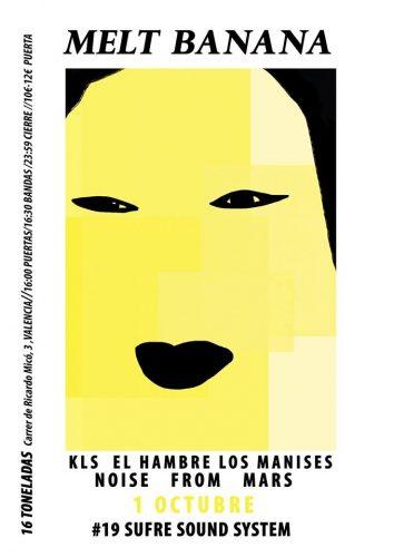 Melt Banana @ 16 Toneladas | València | Comunidad Valenciana | España