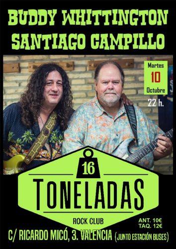 Buddy Whittington & Santiago Campillo @ 16 Toneladas | València | Comunidad Valenciana | España