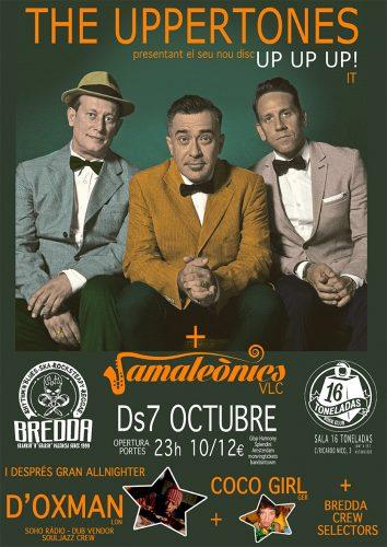 The Uppertones @ 16 Toneladas | València | Comunidad Valenciana | España