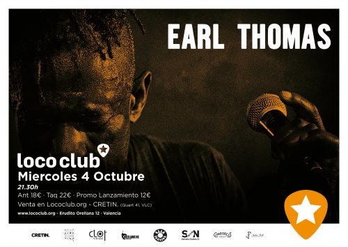 Earl Thomas @ El Loco Club | València | Comunidad Valenciana | España