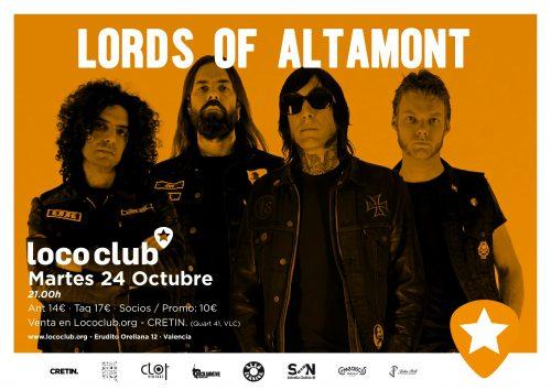 Lords Of Altamont @ El Loco Club | València | Comunidad Valenciana | España