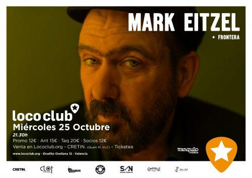 Mark Eitzel + Frontera @ El Loco Club | València | Comunidad Valenciana | España