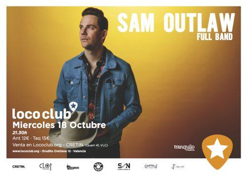 Sam Outlaw & Band @ El Loco Club | València | Comunidad Valenciana | España