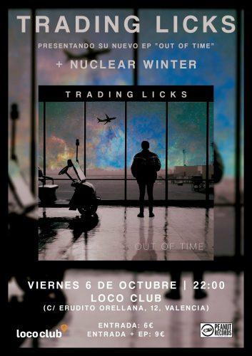 Trading Licks + Nuclear Winter @ El Loco Club | València | Comunidad Valenciana | España