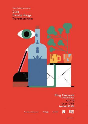 King Creosote+ Gilbertastico @ El Loco Club | València | Comunidad Valenciana | España