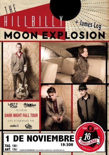 The Hillbilly Moon Explosion + James Leg @ 16 Toneladas | València | Comunidad Valenciana | España