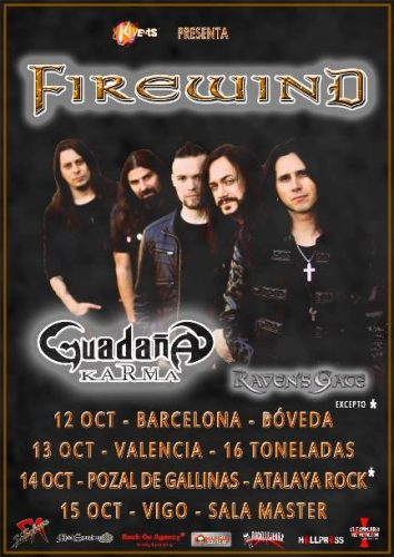 Firewind + Guadaña @ 16 Toneladas | València | Comunidad Valenciana | España