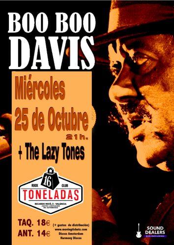 Boo Boo Davis + The Lazy Tones @ 16 Toneladas | València | Comunidad Valenciana | España