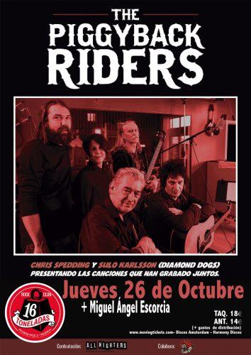 The Piggyback Riders + Miguel Angel escorcia @ 16 Toneladas | València | Comunidad Valenciana | España