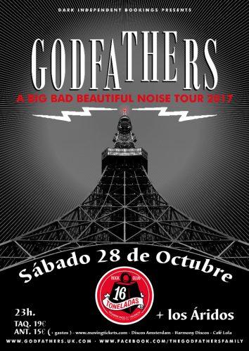 The Godfathers + Los Áridos @ 16 Toneladas | València | Comunidad Valenciana | España