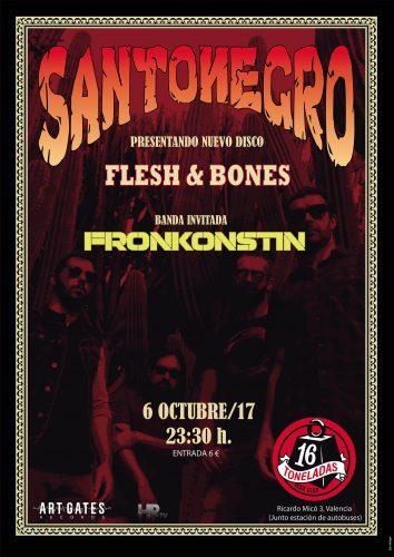 Santonegro + Fronkonstin @ 16 Toneladas | València | Comunidad Valenciana | España