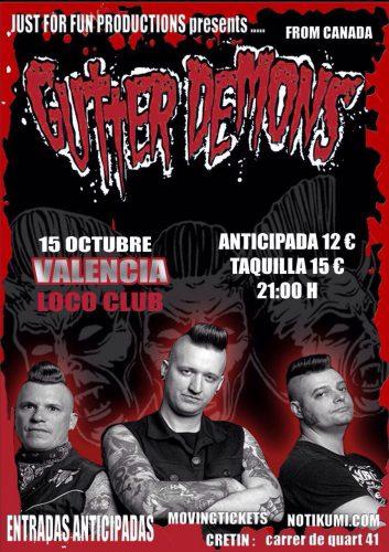 Gutter Demons @ El Loco Club | València | Comunidad Valenciana | España