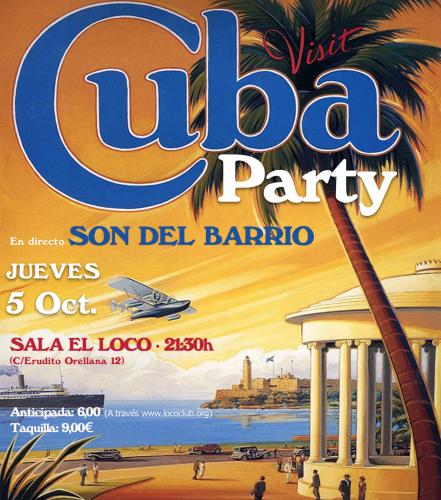 Cuba Party (Son del Barrio) @ El Loco Club | València | Comunidad Valenciana | España