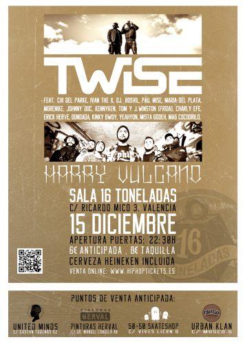 Twise + Harry Vulcano @ 16 Toneladas | València | Comunidad Valenciana | España