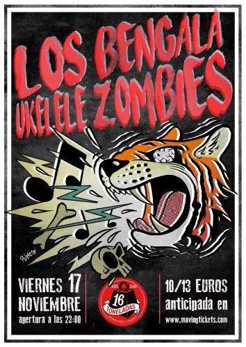 Los Bengala + Ukelele Zombies @ 16 Toneladas | València | Comunidad Valenciana | España