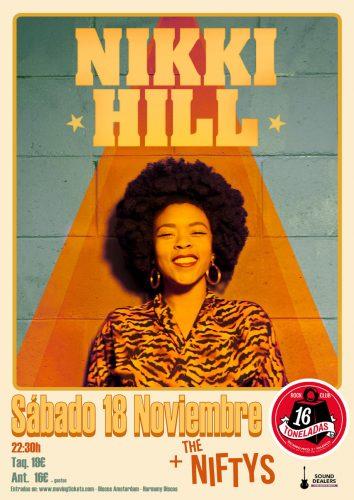 Nikki Hill + The Niftys @ 16 Toneladas | València | Comunidad Valenciana | España
