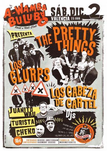 The Pretty Things + Los Glurps! + Los cabeza de cartel @ 16 Toneladas | València | Comunidad Valenciana | España
