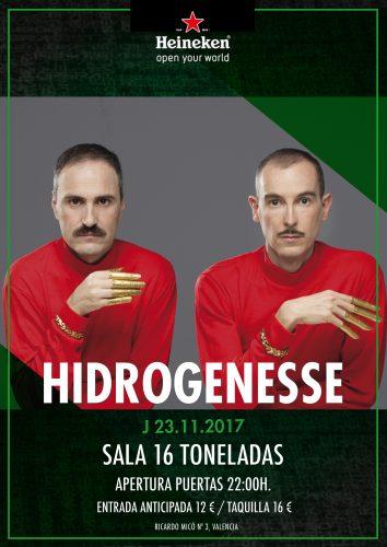 Hidrogenesse @ 16 Toneladas | València | Comunidad Valenciana | España