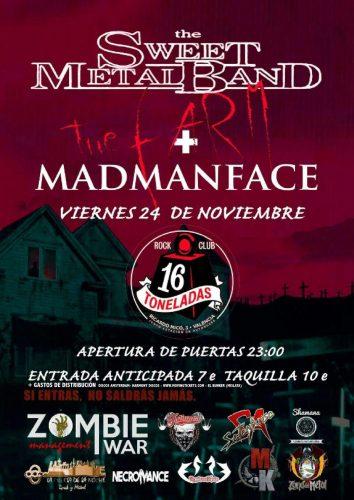 The Sweet Metal Band + Madmanface @ 16 Toneladas | València | Comunidad Valenciana | España