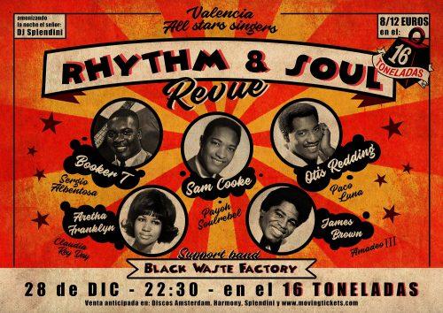 Valencia All Star Singers Rhythm & Soul Revue @ 16 Toneladas | València | Comunidad Valenciana | España
